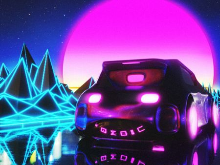 Synthwave Car
