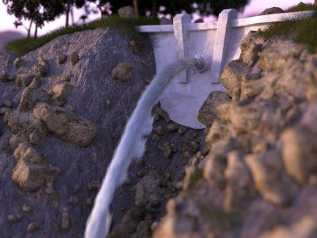Crashing Dam