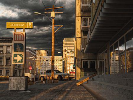 Post Apocalyptic Mexico