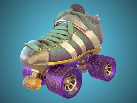 Roller Skate Texturing