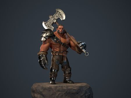 Dota 2 Fan Art: Axe