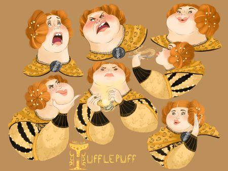 Helga Hufflepuff expressions