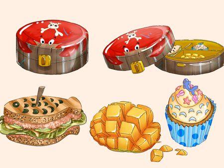 Lunch box props design
