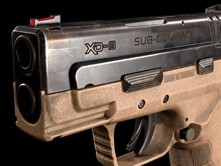 [WIP] Game-Ready asset - Handgun