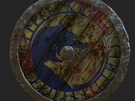 Viking's Battle Shield