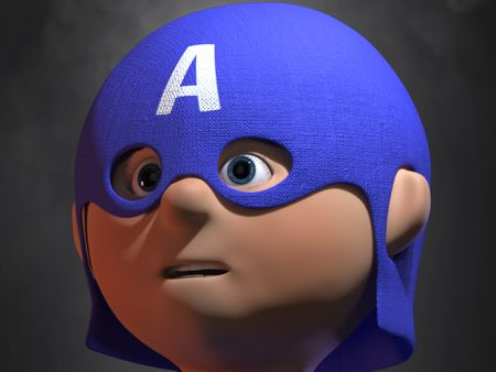 Captain - Stylized Character