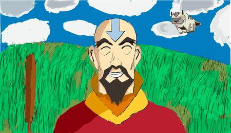 Tenzin Fan art