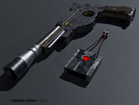 The Mandalorian Pistol and Radar