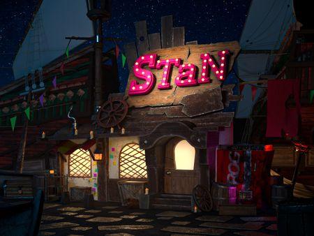 Monkey Island, Stan's cabin