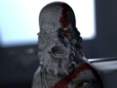Kratos Sculpture *WIP*