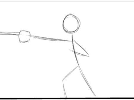 Assessment task swing animation