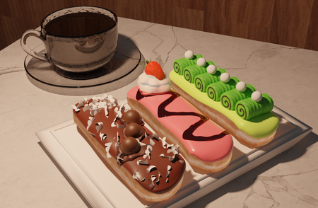 Eclair Snack