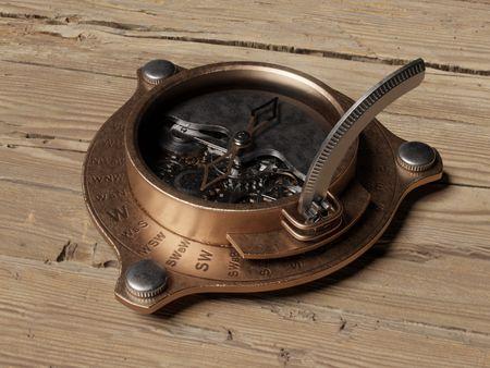 WeeklyDrills 055 - Steampunk Compass