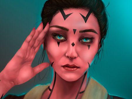 Sephi Serv`laya - Character Concept Art
