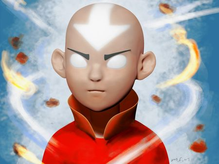 Avatar state Aang