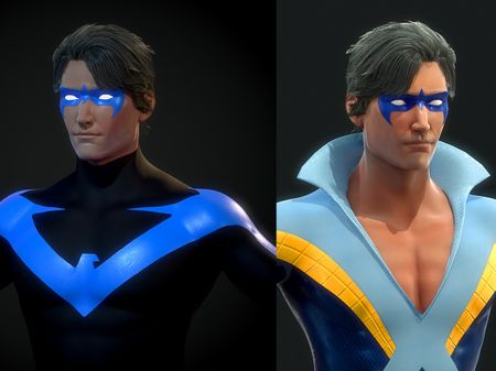 Nightwing realtime Project