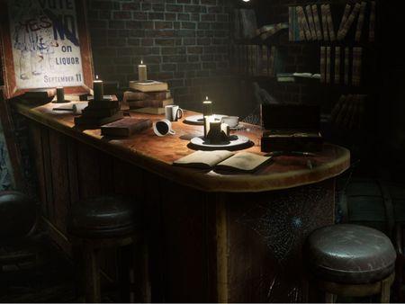 Abandoned Speakeasy Bar