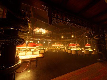 Unreal Engine Casino Scene