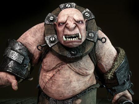 Krakün, the ogre