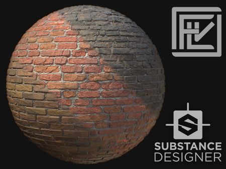 Brick Wall Material Generator - 100% Procedural