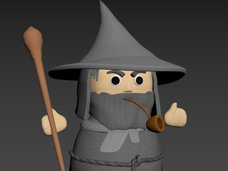 Overcooked Gandalf skin