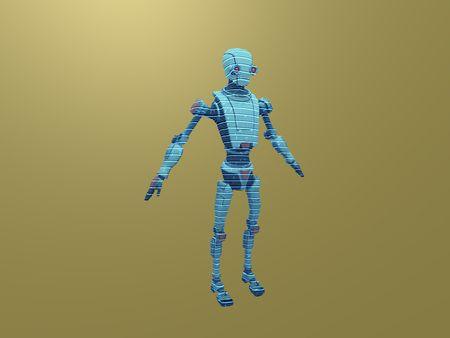Hologram shader