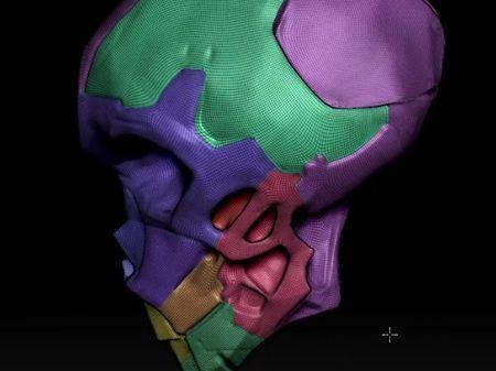 Drinking mech-skull