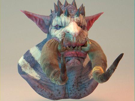 Orc / troll Hybrid