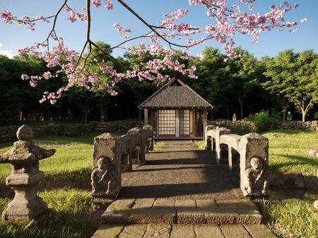 Japanese Tea House - Chashitsu