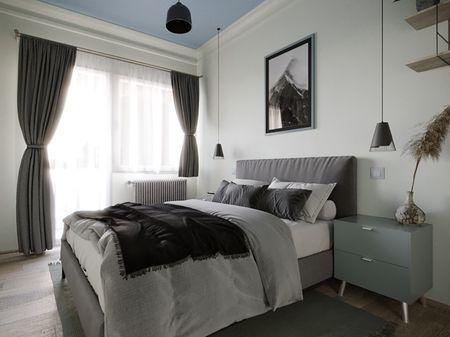 Budapest Suburban Apartment Vol3- Bedroom- ArchViz