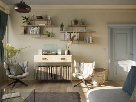 Budapest Suburban Apartment Vol1 - Living Room - ArchViz
