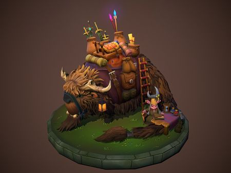 League Of Legends Shop Fanart