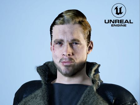 Portrait in Unreal Engine 5