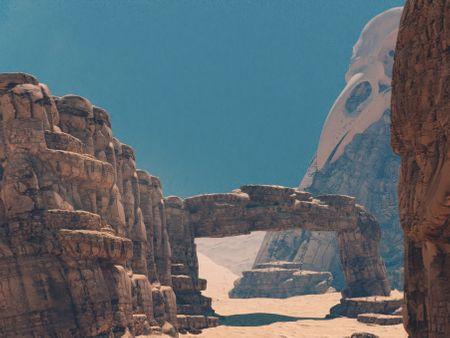 Desert adventure concept art