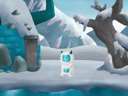 Yeti Walking Animation 2d
