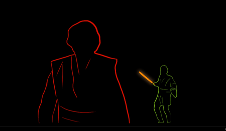 Star Wars Rotoscopy
