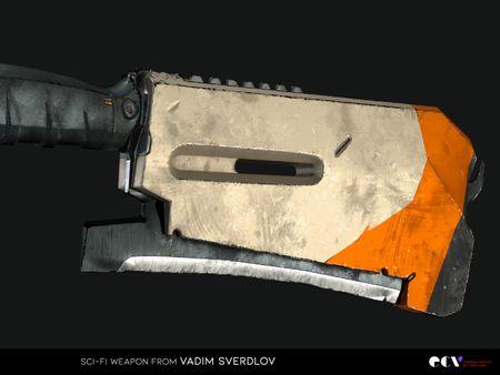 SCI-FI Weapon from Vadim Sverdlov