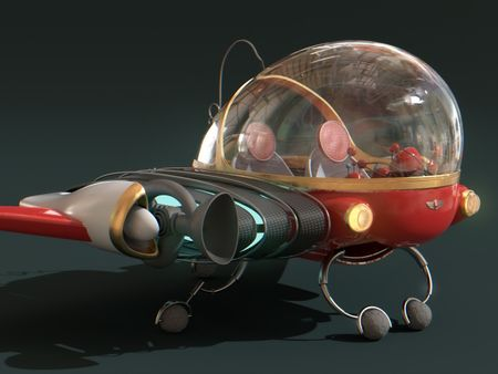 Time Machine #1 (Recreation from Meet the Robinsons)