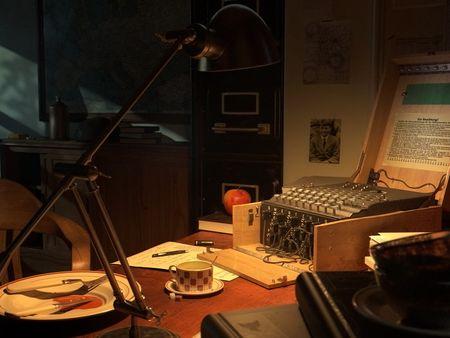 Alan Turing's Desk at Bletchley Park [2/2]