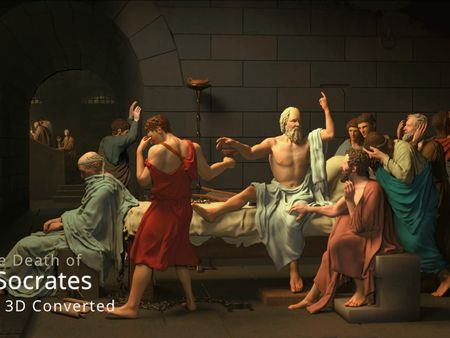 The death of Socrates (3d Converted)