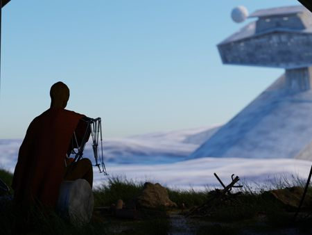 Star Wars environment and Character concept art