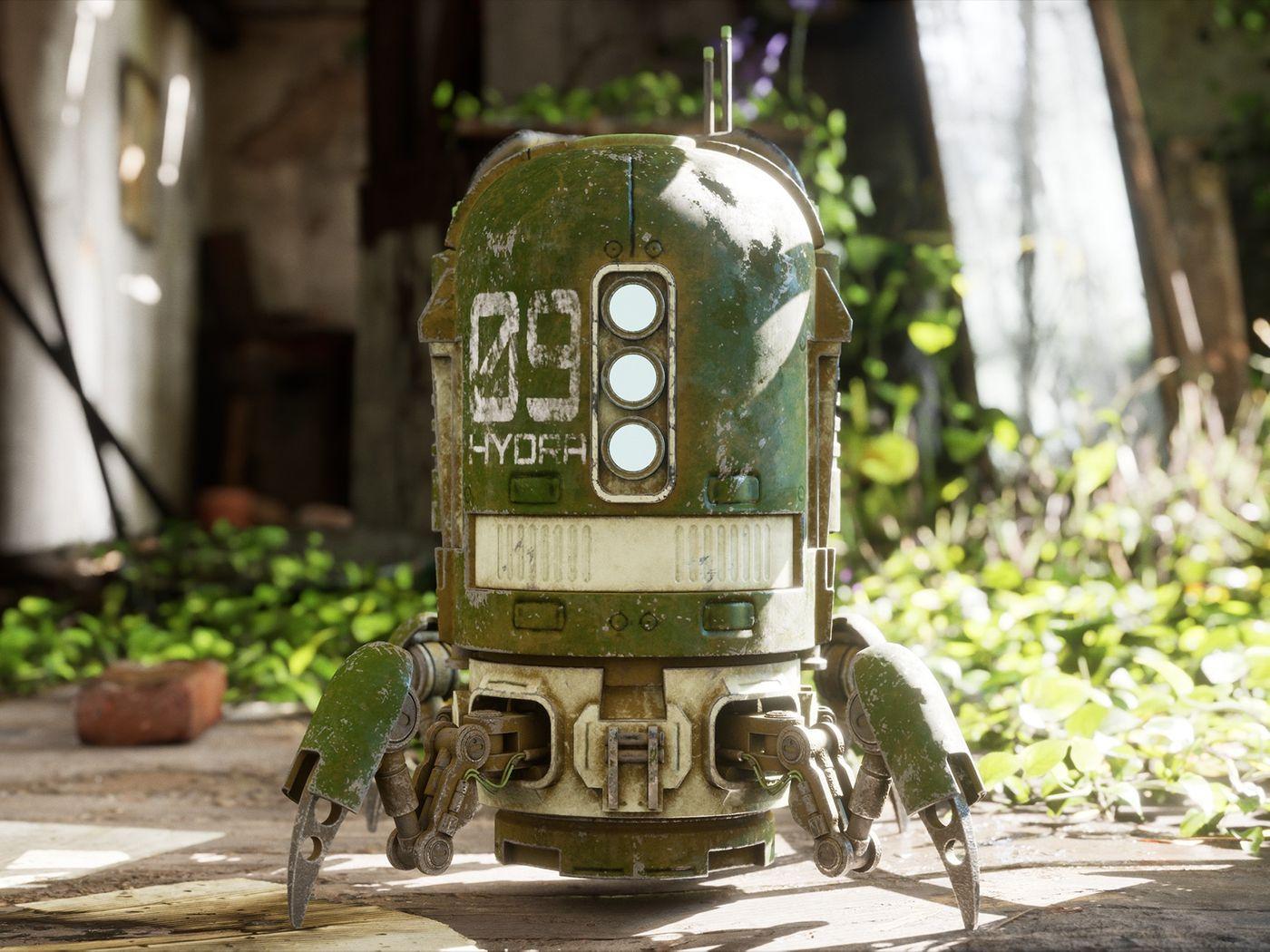 Spider Robot | Game ready