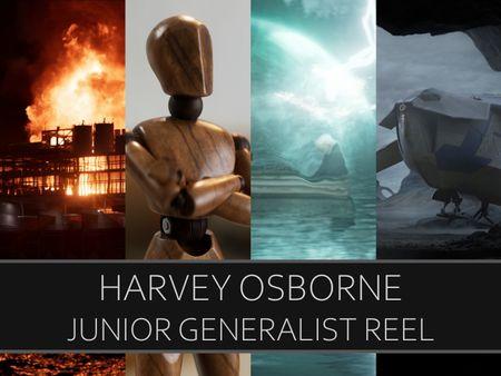 Harvey Osborne - Junior Generalist Showreel - 2021