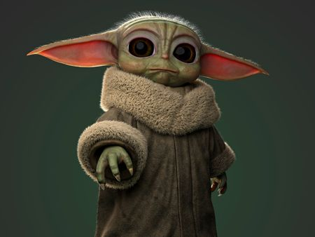Baby Yoda - Personal Project by Héctor Gómez