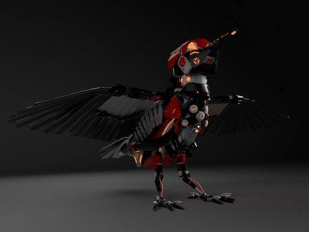 Mecha Woodpecker