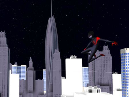 Spiderman Parkour Animation