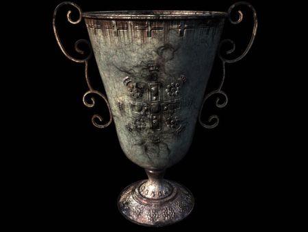 Old Metal Urn