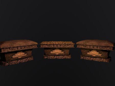 Incan stone chest