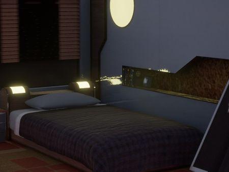 FFVIII Balamb Garden Bedroom Recreation