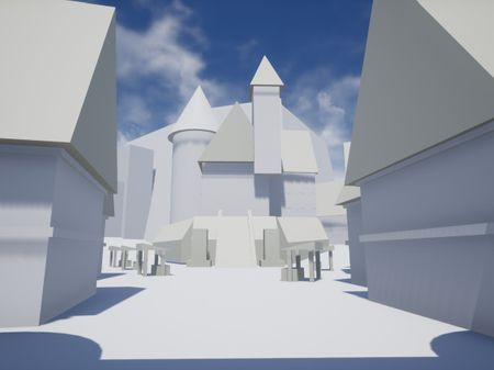 Medieval fantasy citadel